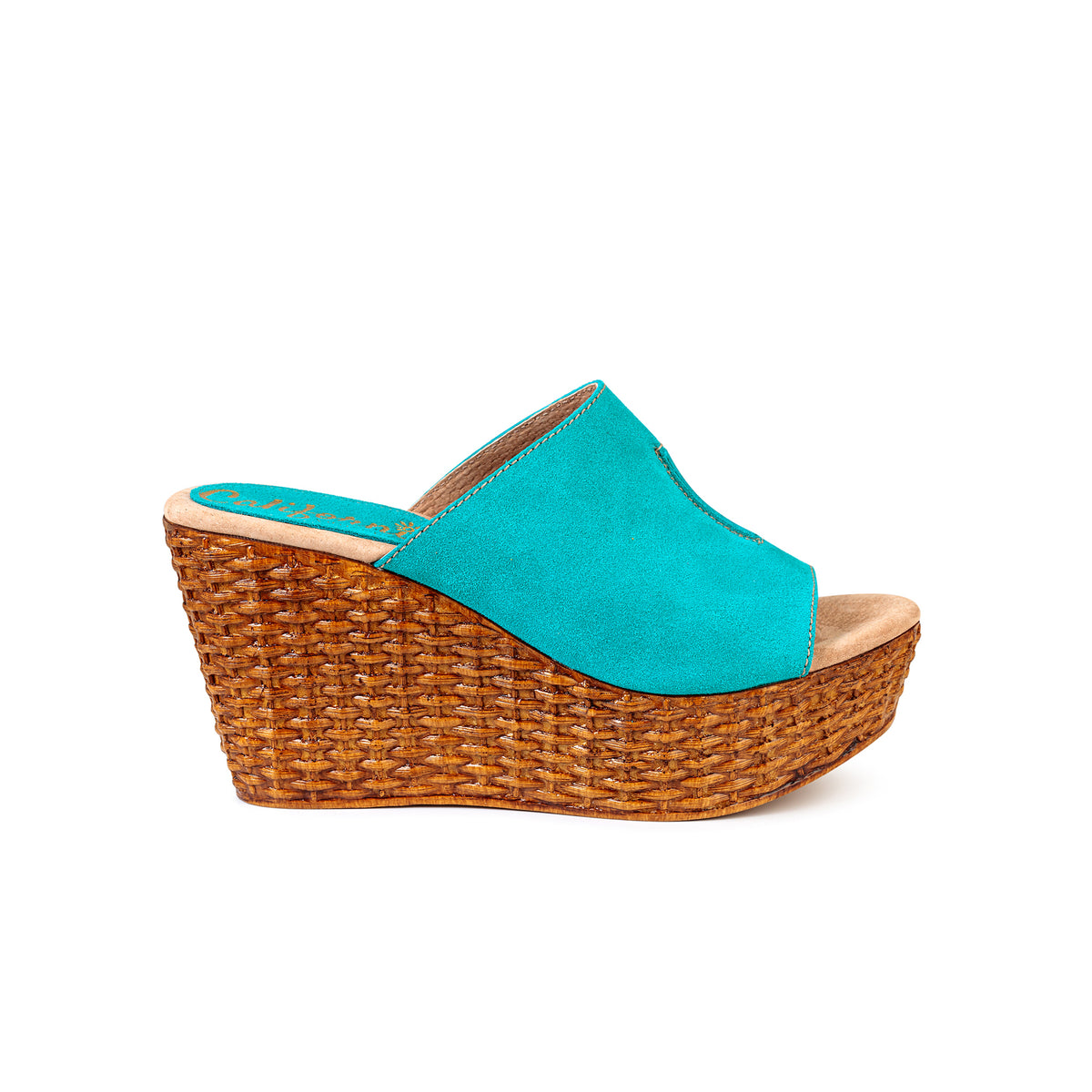 Martha | Turquoise Suede