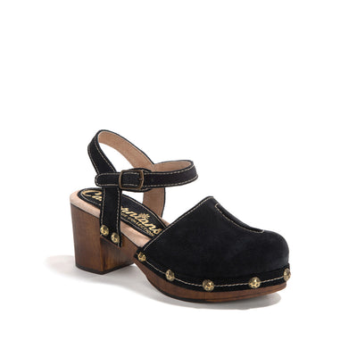 Betty | Black Suede