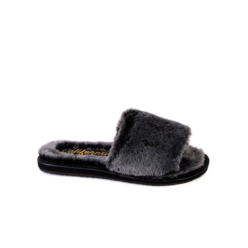 Bianca | Charcoal Shearling