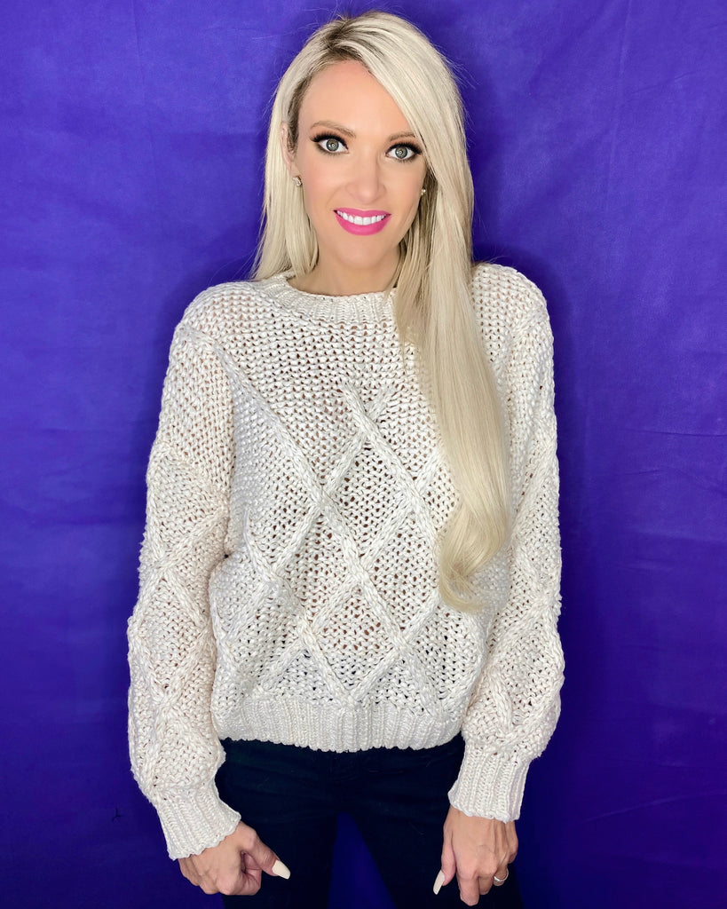 Milky Diamond Sweater