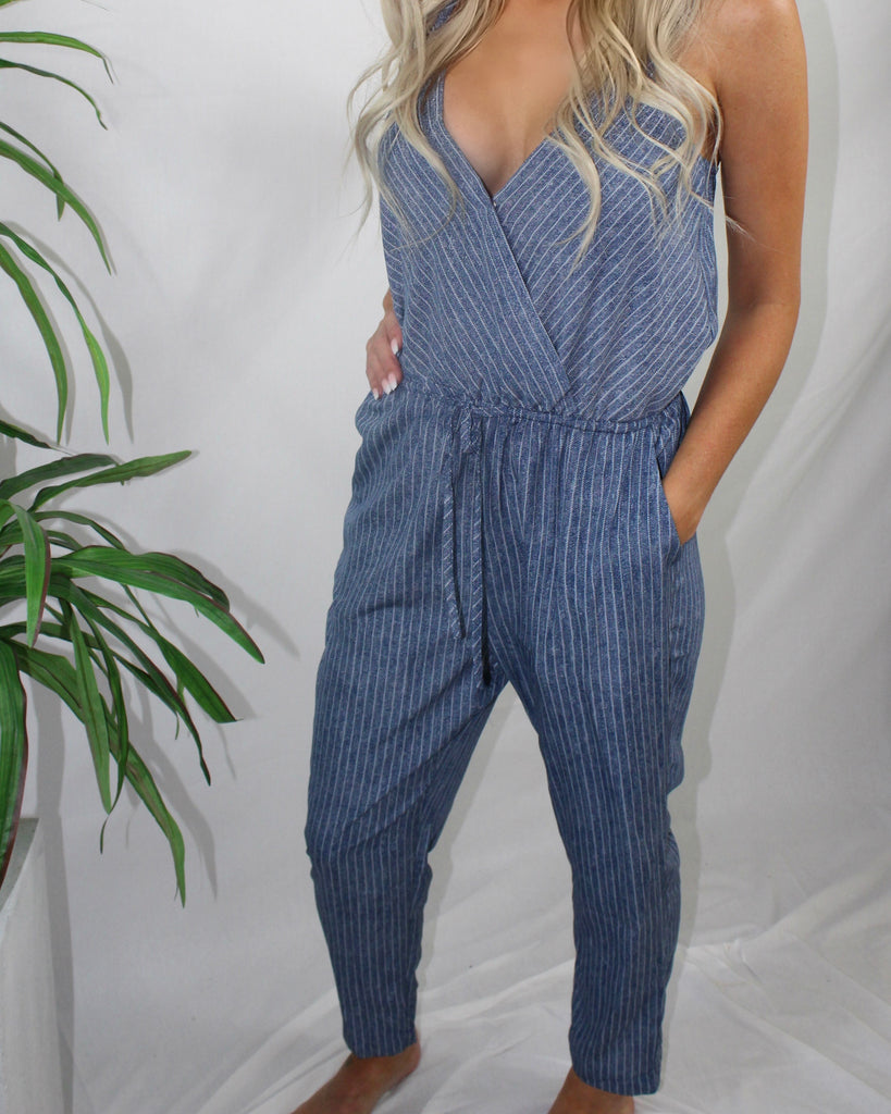 Jean Bean Jumpsuit