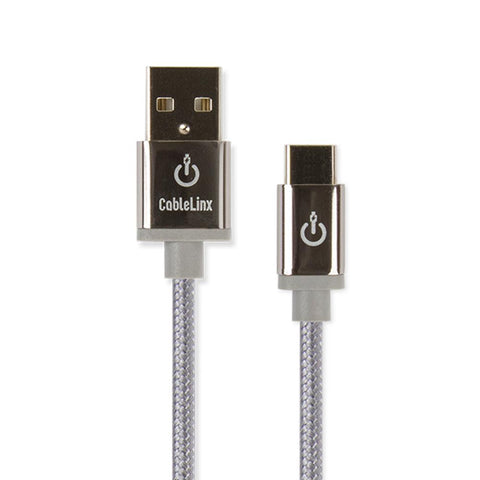 CableLinx Elite USB-C to USB-A Charge & Sync Braided Cable