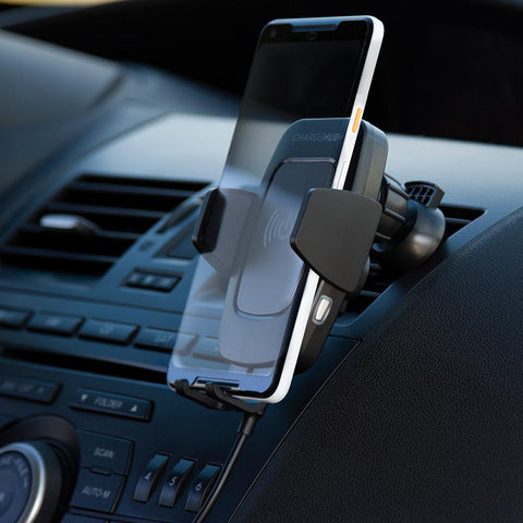 ChargeHub Auto Phone Mount & Wireless Charger