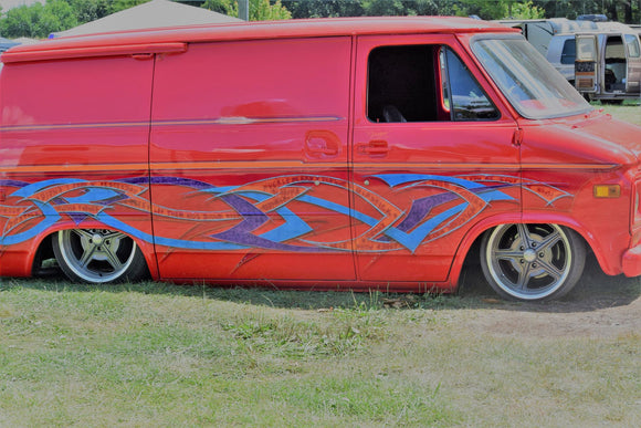 Cody's Van and his story from Minitrucks to full custom vans