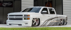 """Sean Randall"" Lowrider Influence, Mini Trucks, and his Bodydropped Silverado"