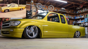 """Ricky"" Growing up with Negative Camber club and restoring his 1997 Toyota Tacoma"
