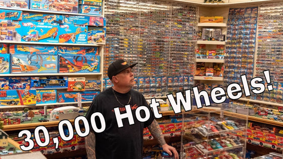 30,000 Hot Wheels! Cory Scott's Texas-sized Hot Wheels collection and his Hot Wheels room