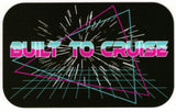 Built To Cruise Video Logo Decal