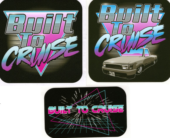 Built To Cruise Decal Pack