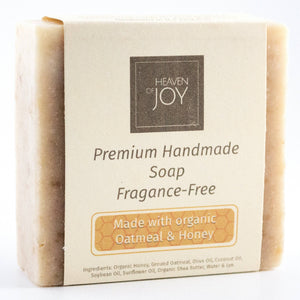 Organic Honey & Oatmeal Soap - Heaven Of Joy