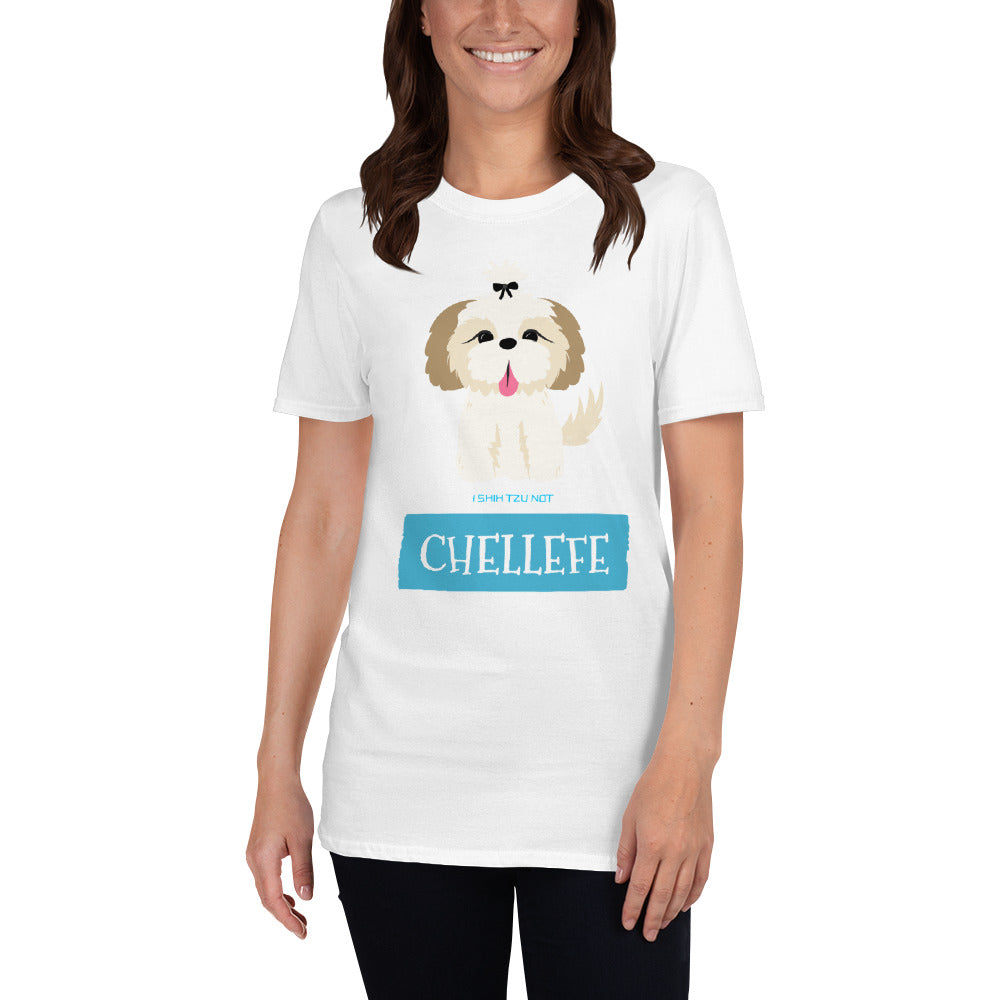 "Chellefe ""Blue Puppy"" T-Shirt"