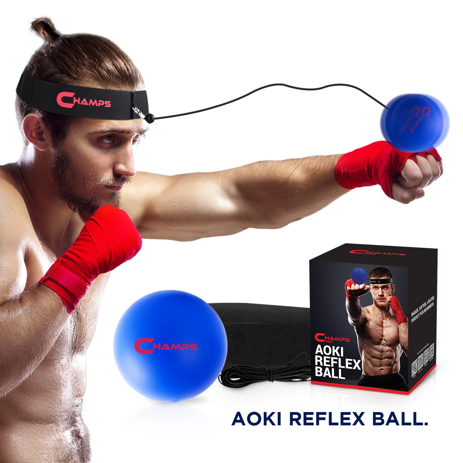 boxing equipment fighting speed fast Champs MMA Boxing Reflexball