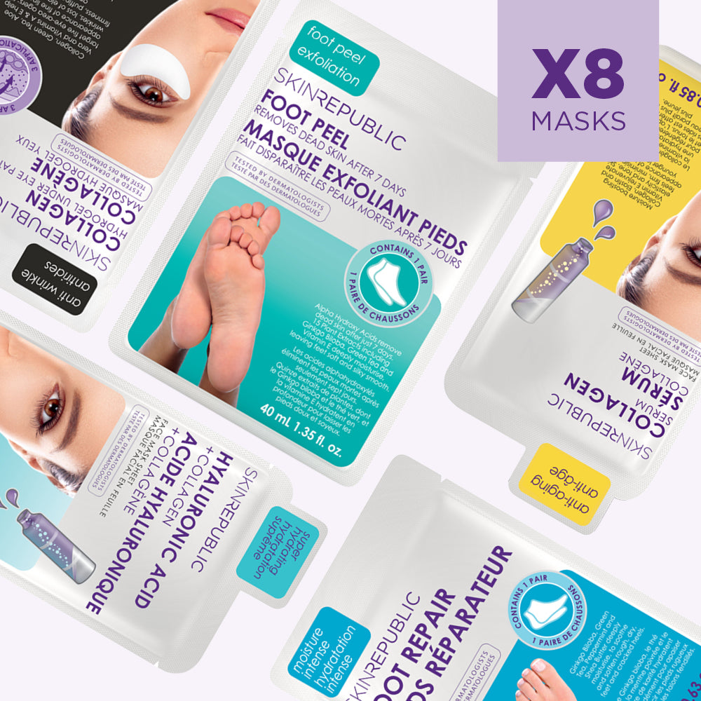 The Ultimate Starter Kit (8 Mask Bundle)