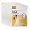 Gold Hydrogel Face Mask - 10 Pack