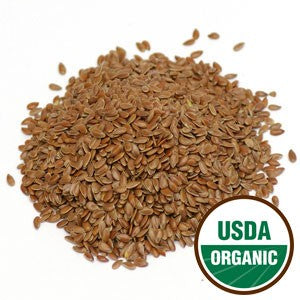 Organic Brown Flax Seed Whole - Max Nature