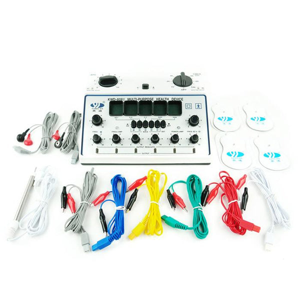 The Acu Machine - 6 Channel Electro Acupuncture & TENS Therapy Device - Max Nature