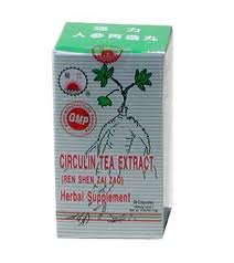Circulin Tea Extract - Ren Shen Zai Zao - Max Nature