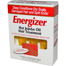 Energizer Hot Jojoba Oil Hair Treatment - Max Nature