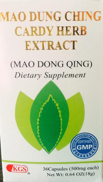 Mau Dung Ching Cardy Herb Extract - Max Nature