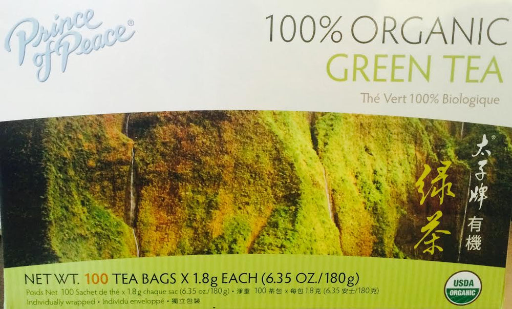 Organic Green Tea - Max Nature