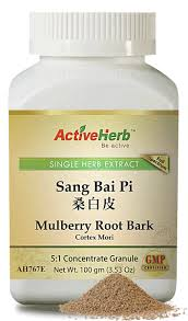 Sang Bai Pi - Mulberry Root Bark 桑白皮 - Max Nature