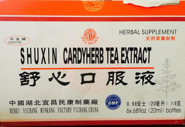 Shuxin Cardyherb Tea Extract - Max Nature