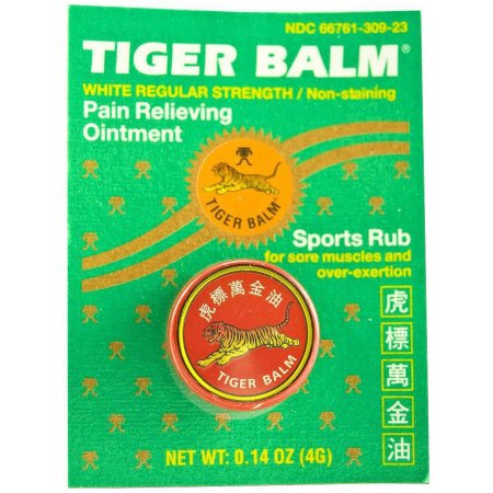 Tiger Balm White Regular Strength - Max Nature