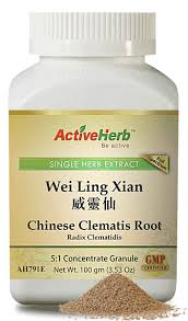 Wei Ling Xian - Chinese Clematis Root 威灵仙 - Max Nature