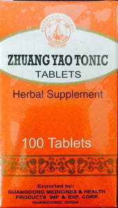 Zhuang Yao Tonic Tablets - Max Nature