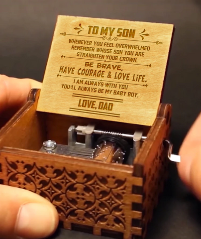 To My Son - Love Dad Music Box MBX14