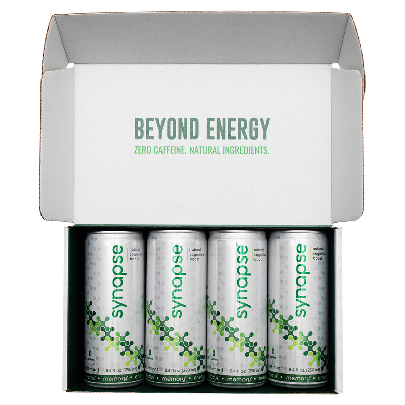 Synapse Natural Mind Fuel - 4-Pack