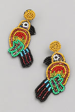Load image into Gallery viewer, Parrot Beaded Earrings