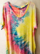 Load image into Gallery viewer, Tie Dye Pocketed Maxi Dress