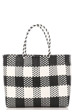 Load image into Gallery viewer, Checker Beach Tote