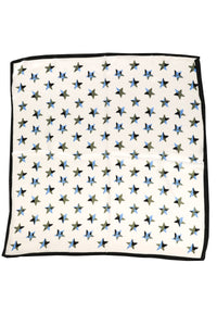 Star Print Marble Scarf