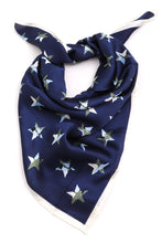 Load image into Gallery viewer, Star Print Marble Scarf