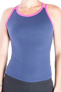 One Step Ahead Cotton Lattice Tank