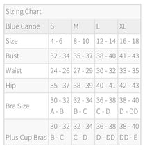 Load image into Gallery viewer, Blue Canoe Cotton Adjustable Bra