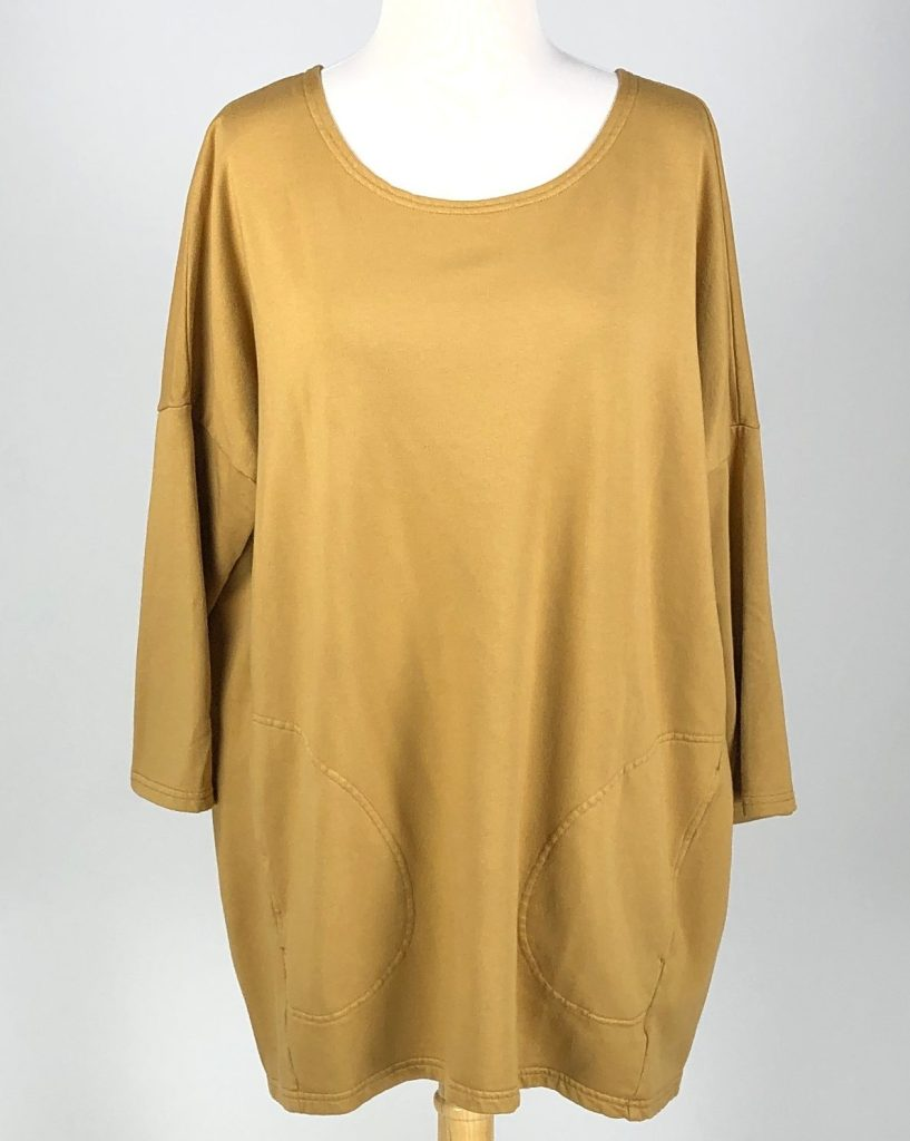 Cut Loose Micromodal Fleece Long Boxy Top
