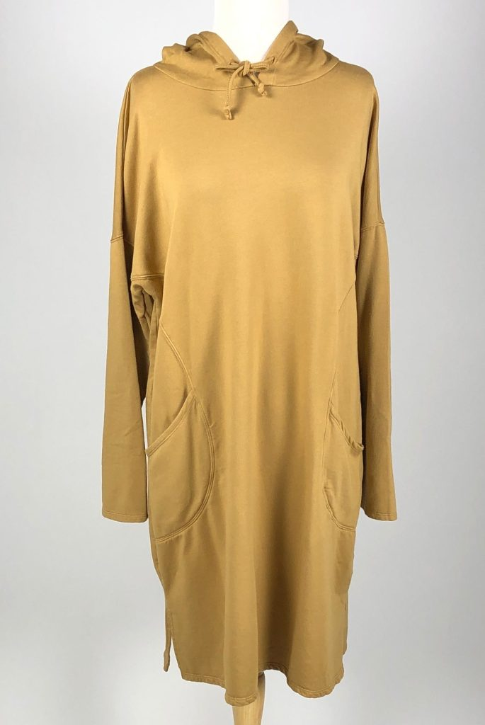 Cut Loose Micromodal Fleece Hoodie Dress