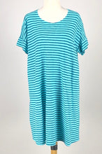 Load image into Gallery viewer, Cut Loose Gulfstream Stripe Short Sleeve Dress