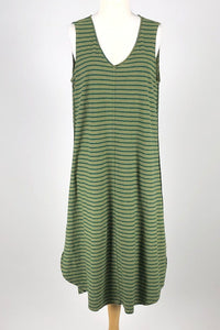 Cut Loose Gulfstream Stripe V-Neck Dress