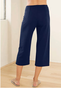 Blue Canoe Crop Pant with Slits