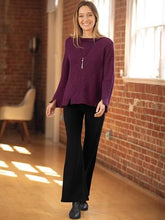 Load image into Gallery viewer, Blue Canoe Ponte Bell Bottom Pant (S) - On Sale!