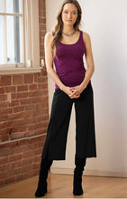 Load image into Gallery viewer, Blue Canoe Crop Pant with Slits