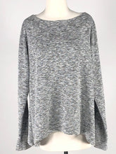 Load image into Gallery viewer, Cut Loose Crimped Fabric Wide Facing Pullover