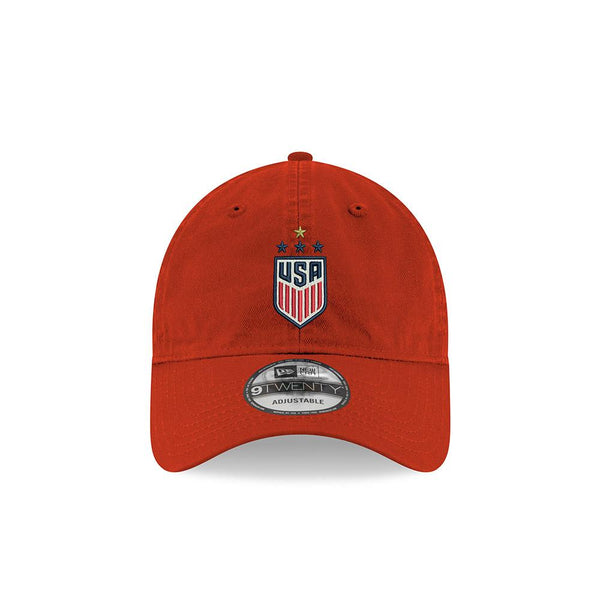 NEW ERA WNT 4 STAR CHAMPION HAT - RED