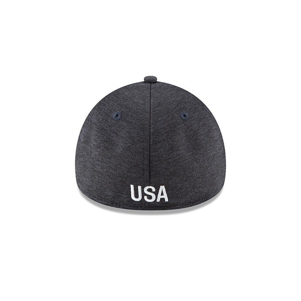 NEW ERA CREST 49FORTY BEVELED TECH FITTED CAP - NAVY