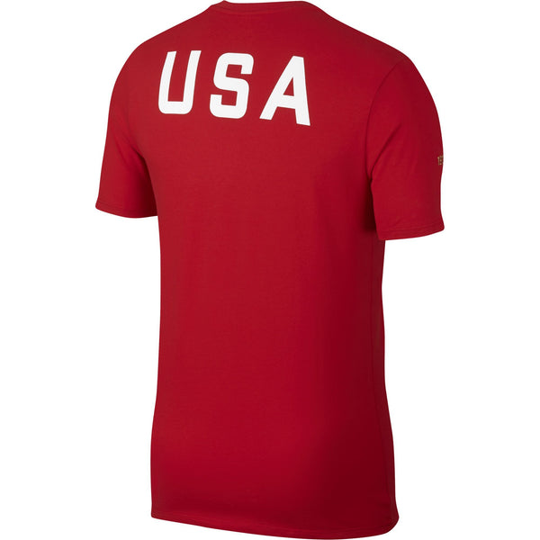 Men's Nike USA Squad Red Tee