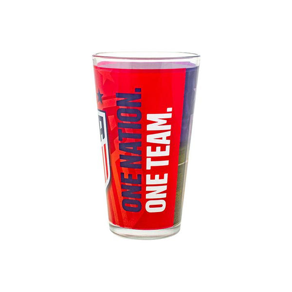 Boelter USWNT 3-Star Sublimated Shadow Pint Glass